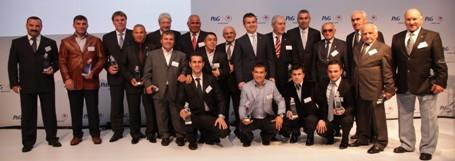 2012 Olimpiyatlarına katılacaklar ve bu güne kadar madalya alanlar Ödüllendirildi
