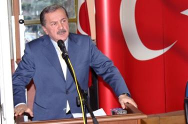 Sarıyerliler Derneği 10.Genel Kurulunu Yaptı,8.Defa Hayati Kaptanoğlu Dedi.