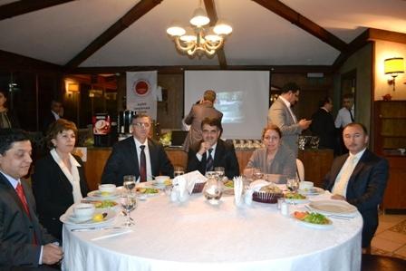 BÖLGE İŞ-STK-YEREL YÖNETİMLERİ B.W. EMPİRE PALACE'DE BULUŞTU